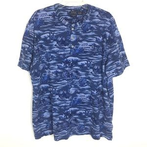 Polo Ralph Lauren Featherweight Hawaiian Shirt XXL